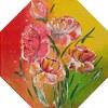 Glücklicher Blumenstrauß