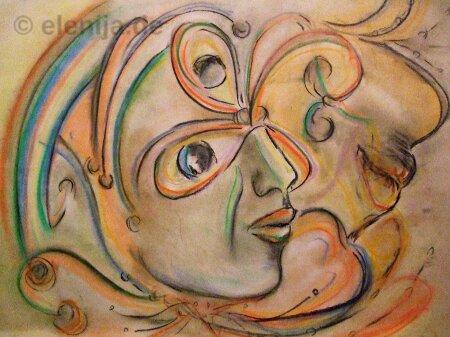 Yin und Yang, von Elenija