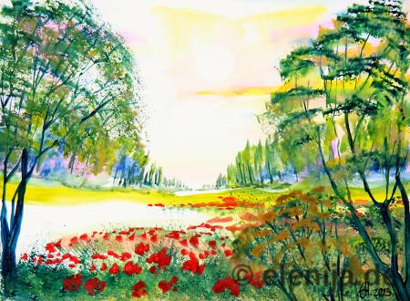 Hallo Sonne!, von Elenija